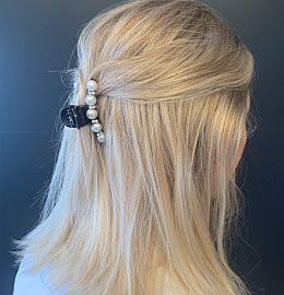 Hairclip Pearly Black