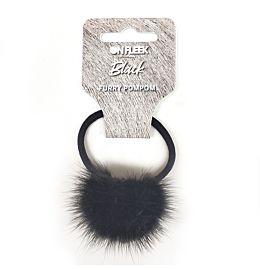 Onfleek Furry Pompom Black